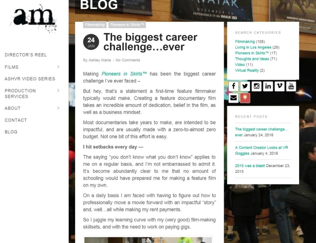Ash Blog
