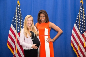 Windsor Western and Michelle Obama