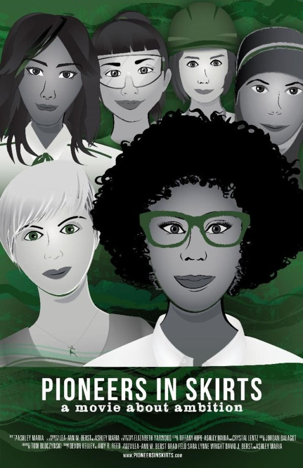 Pioneers in Skirts Movie Poster