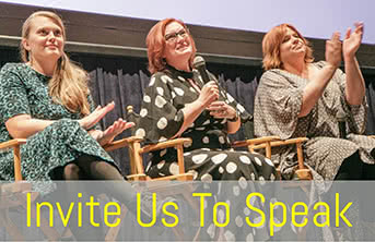 Pioneers in Skirts Filmmakers at Speaking Event